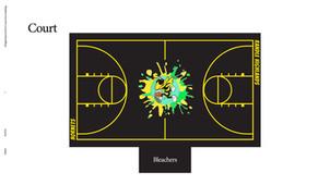 Ellen DeGeneres Basketball Court Plan