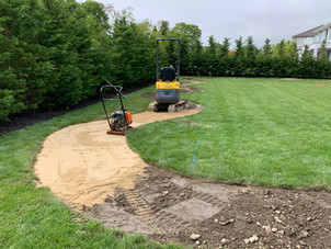 Gravel Bicycle Path Construction