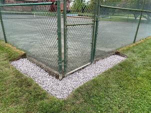 Tennis Court Drywell