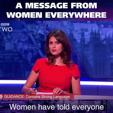 Women have told everyone to just f**k off