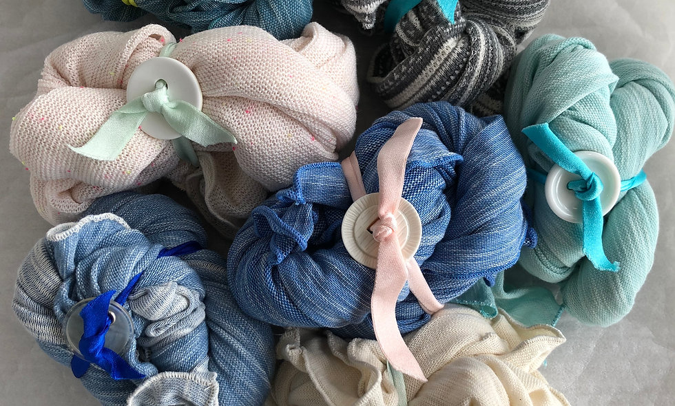 夏天針織薄巾(Part 1)