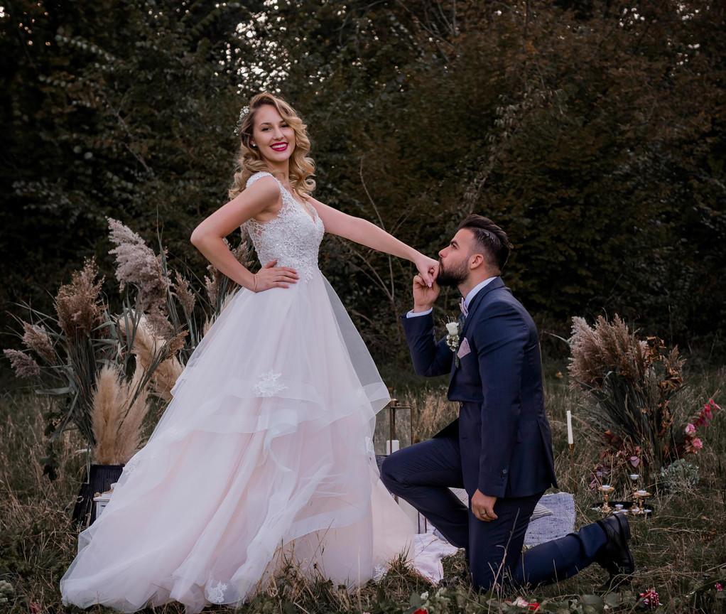 Wedding of a beautiful couple