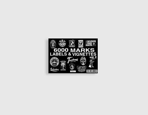 6000 MARKS. LABELS  & VIGNETTES vol. 2