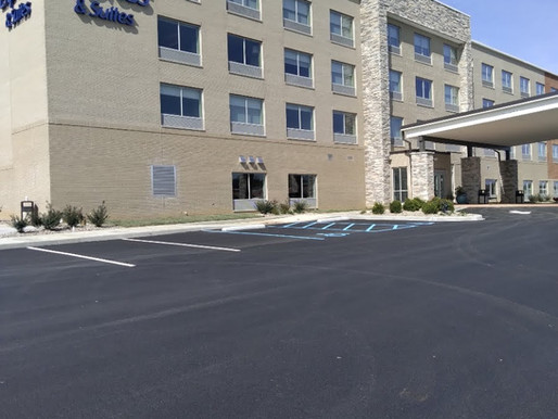 New Holiday Inn Express in Jeffersonville Indiana