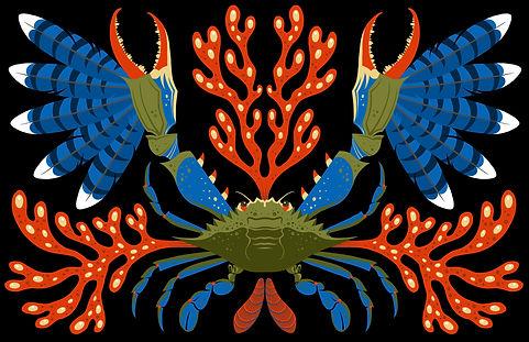 Bluecaw Crab