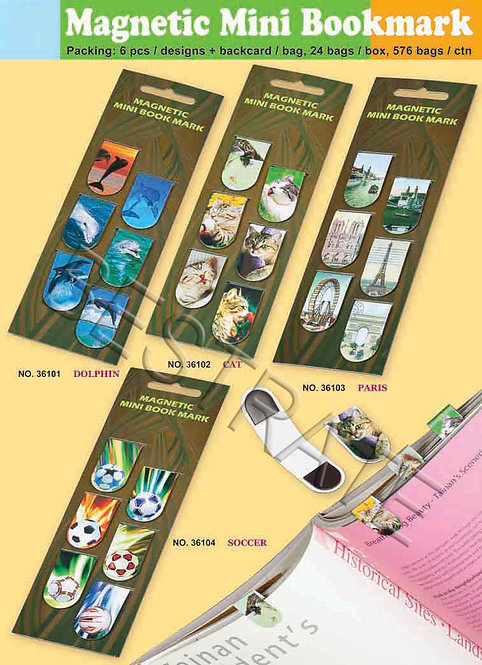 BRH361-1 Magnetic mini bookmark