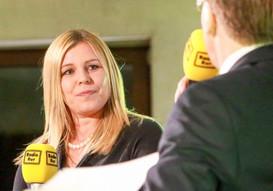 Radio Rur läd Toni Schumacher ins Andreashaus ein.
