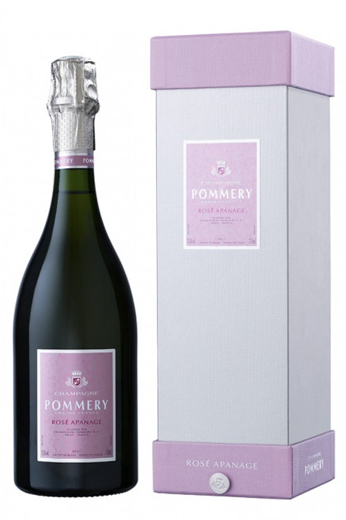 Champagne Pommery Rosé Apanage in edler Geschenkpackung (1 x 0.75 l)
