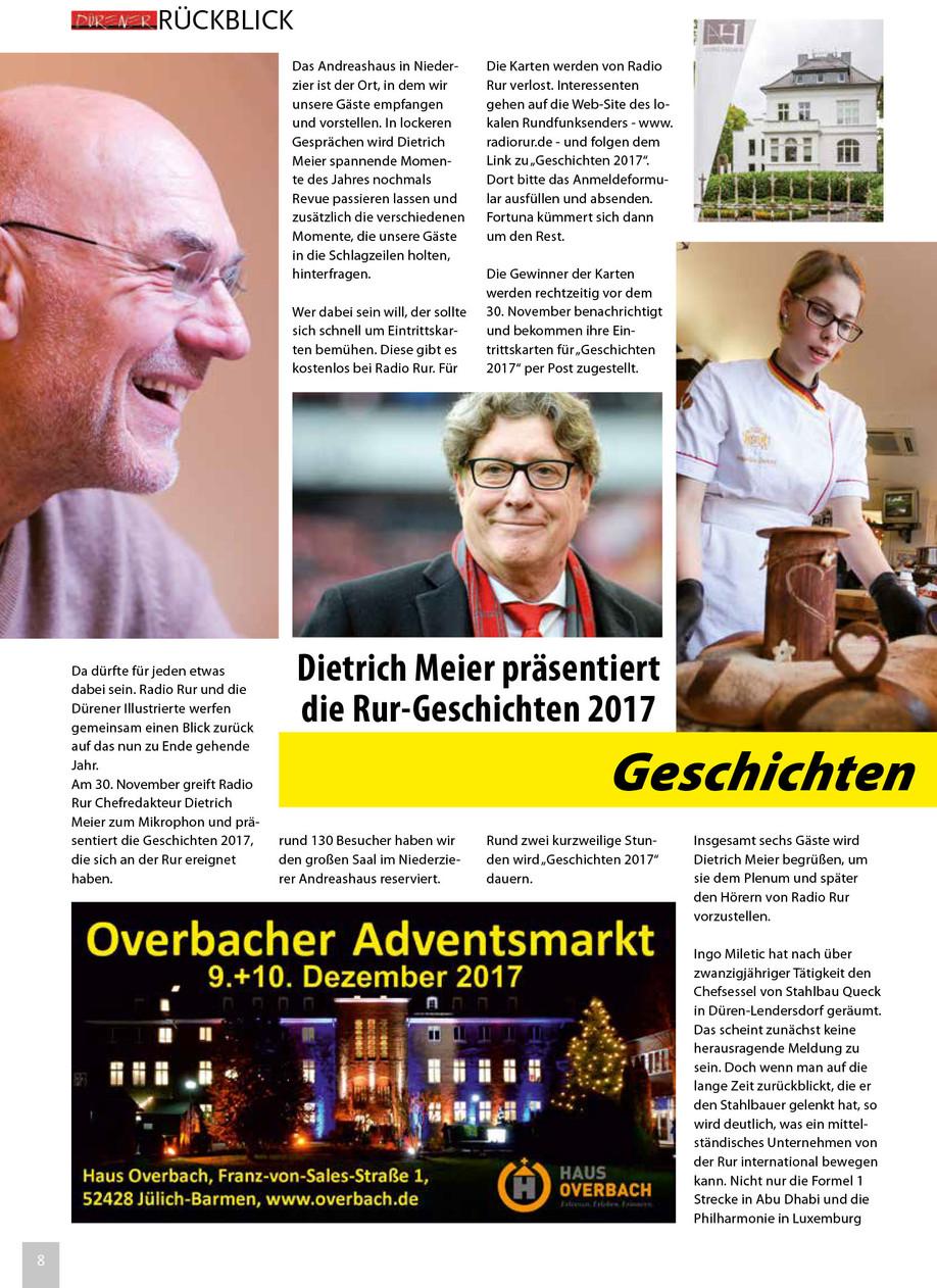 Radio Rur Geschichten 2017 im Andreashaus