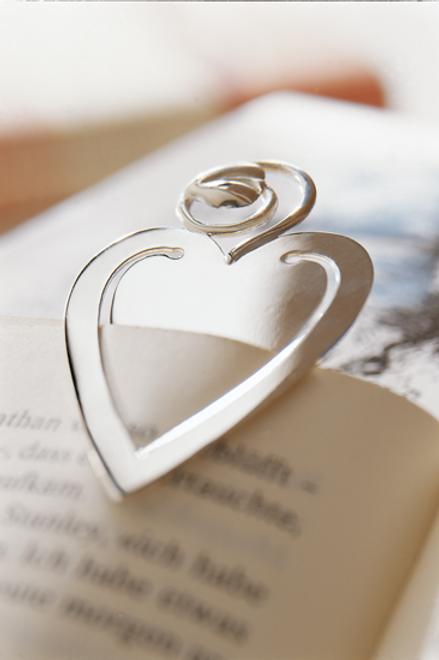 Lesezeichen Herz