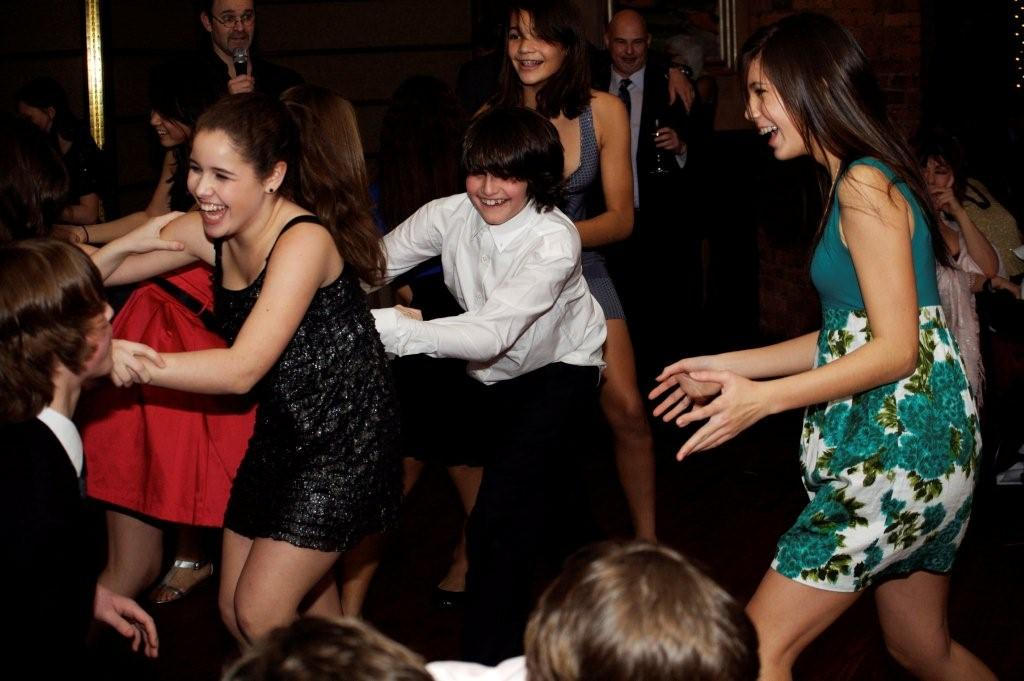 Lee's Bar mitzvah conga line