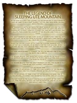 sleeping ute legend
