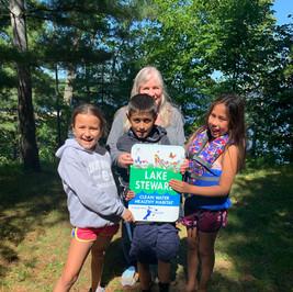 Whitman family - Gull Lake Rocky Point