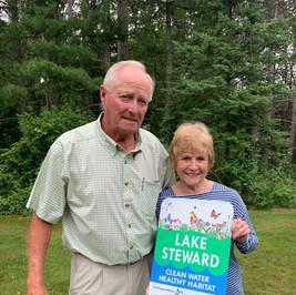 Bob Toberg & Rosemary Goff - Lake Margaret