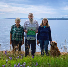 Judy Brubaker, Joe Marchel & Lorraine Birskovich & Luna - Gull Lake