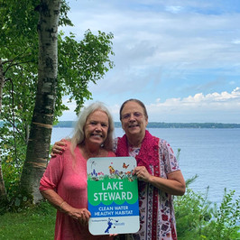 Carlotta Tutor & Barbara Vielma - Gull Lake