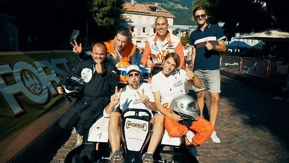Gokartrennen Brixen, Team Helmut Tauber
