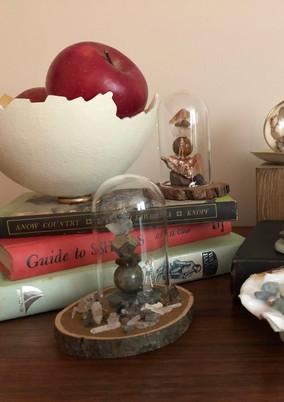 Gemstone Miniature Worlds