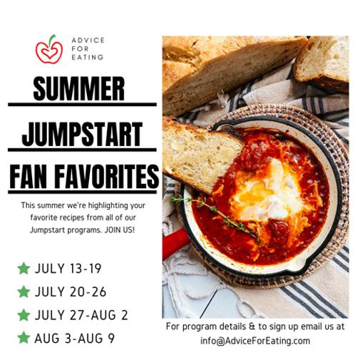 Summer Jumpstart Week 2 Fan Favorites