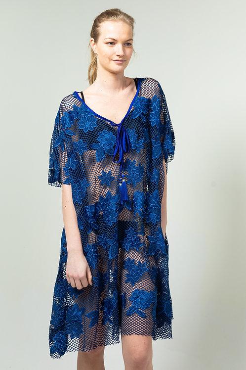 Dress Pescado Blue
