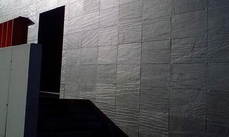 hållbart skiffer fasad