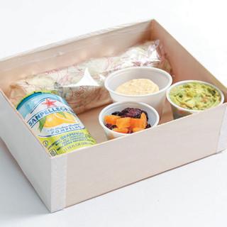 VEGAN SANDWICH LUNCH BOX