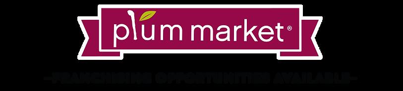 Plum Market Franchising Logo