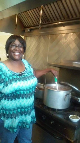 Bishop Bowick in the Kitchen.JPG