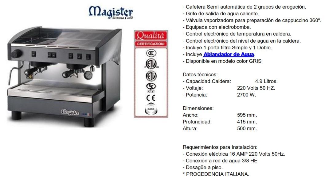 Cafetera MS70 FIJA
