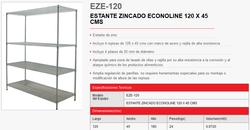 ESTANTE ZINCADO eze120