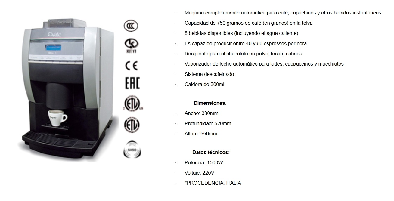 Cafetera RELAX R1