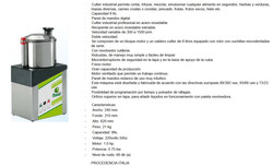 CUTTER SOBREMESA MODELO CL-8