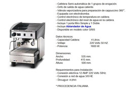 Cafetera MS60 FIJA