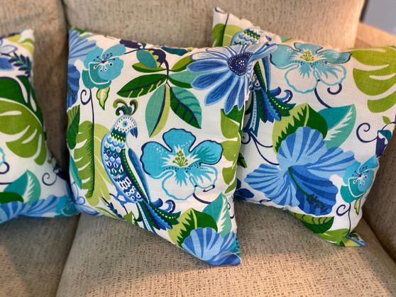 Tropical bird fabric