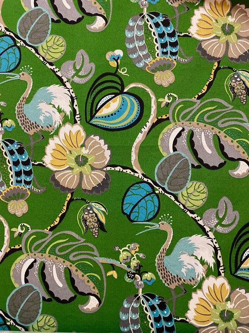 Tropical bird outdoor pillow cover