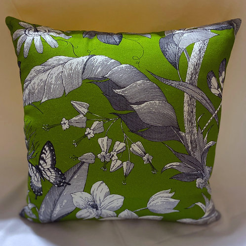 Green garden outdoor pillow cover