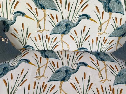 Heron outdoor fabric