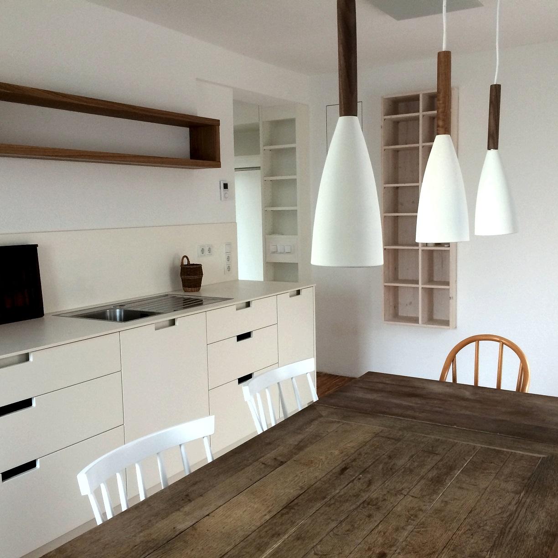individuelle Küche in Ferienhaus