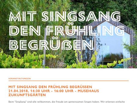 Tolles Programm im Musehaus auf der LGS Würzburg!