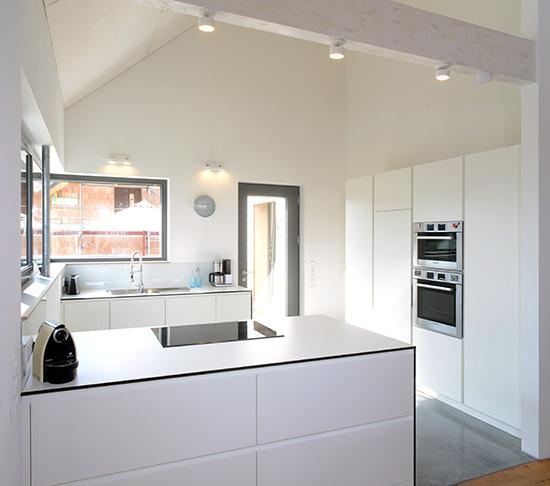 individuelle Küche im Haus Öhningen