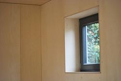 Wohnbox Wandbekleidung aus Holz