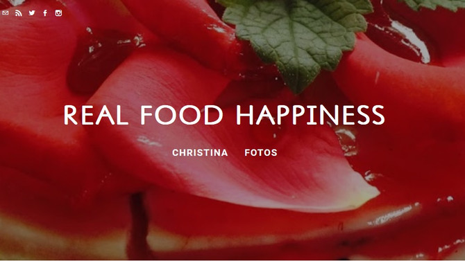 "Nahrung für Schöngeister: Christina Schorpps Blog  ""REAL FOOD HAPPINESS"""