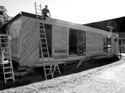 Vorfertigung Wohnbox