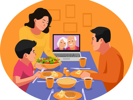 Secondary Level English Essay - Family Gatherings & Video Conferencing