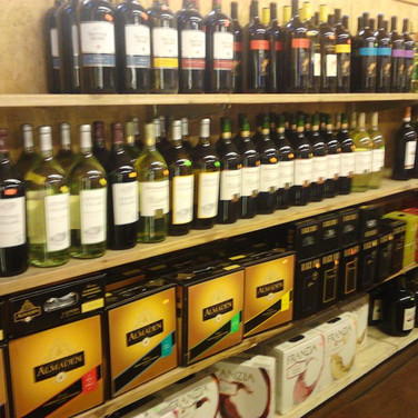 Even in the End Liquors Wines