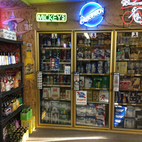 Cold Beer - Big Selection