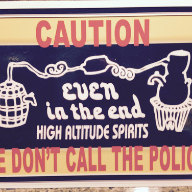 Caution - We Don't Call the Police