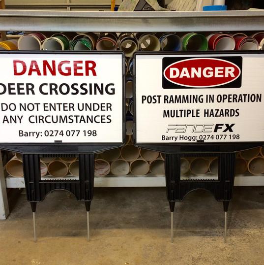 Fence FX danger signs.JPG