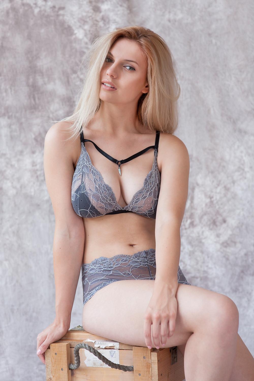 Freya Bralet and Panties