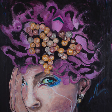 Purple & Pearls